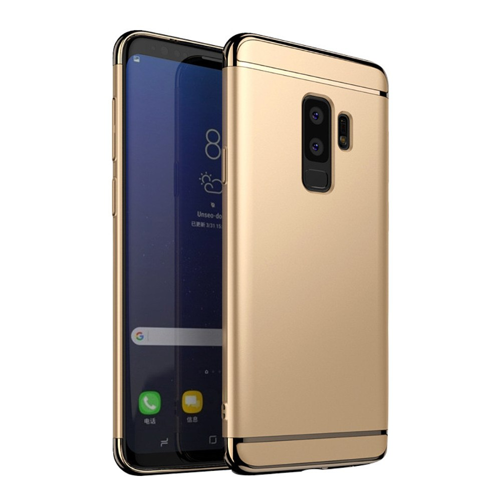 Kryt na Samsung Galaxy S9 Plus Shockproof zlatý