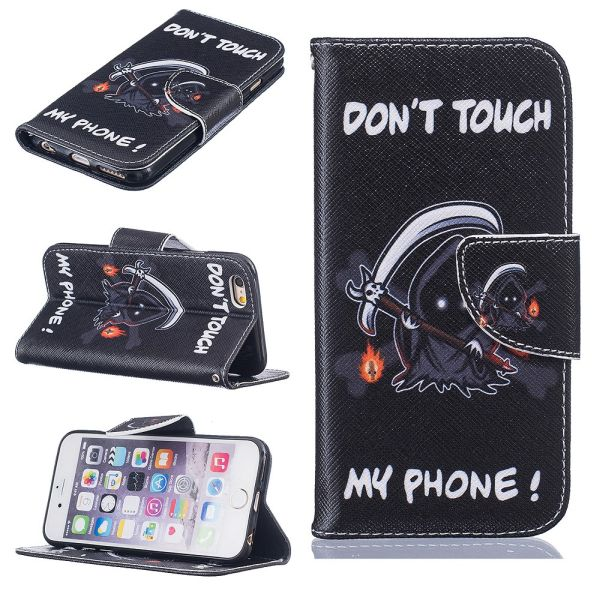 Pouzdro na iPhone 6 / 6S DON'T TOUCH MY PHONE