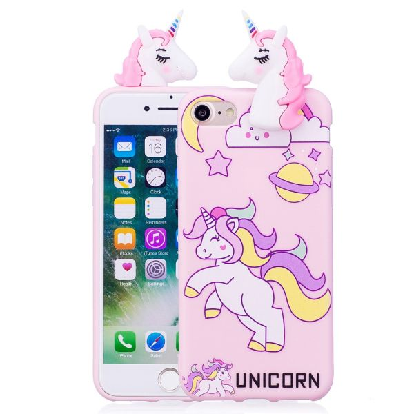 Kryt na iPhone 7 / 8 3D Unicorn