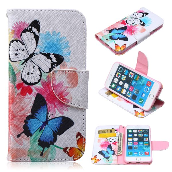 Pouzdro na iPhone 5 / 5S  / SE Butterfly