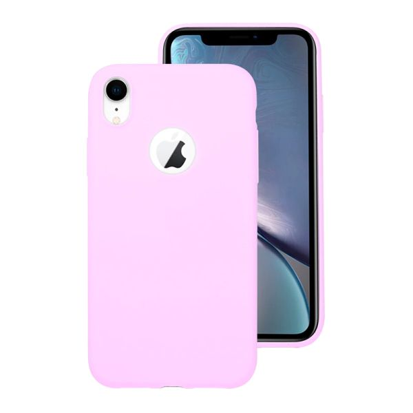 Kryt na iPhone Xr Candy hole fialový
