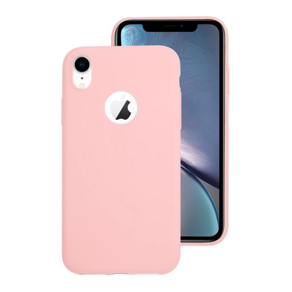 Kryt na iPhone Xr Candy hole růžový