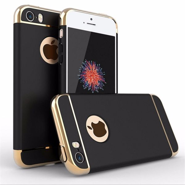 iPhone 6 / 6S kryt Luxury Shockproof černý